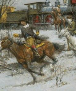 Fast Guns, Faster Horses   Andy Thomas   Western Art